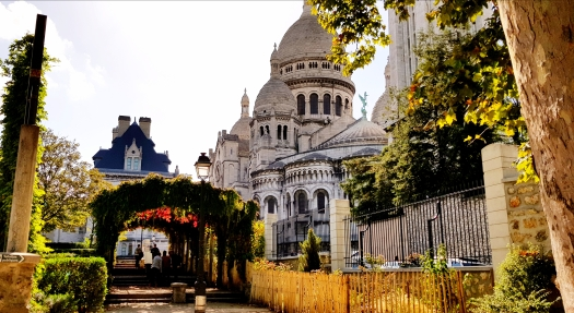 Sacred Coeur Basilica Paris France