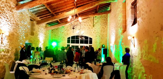 Dining Hall of French Wedding