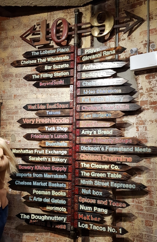 Chelsea Market Manhattan NY List of restaurants List of Places to eat