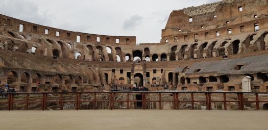 Arena Coliseum Rome Italy