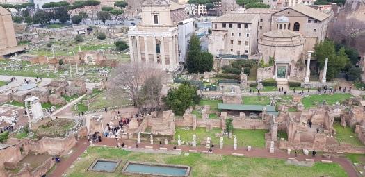 Palantine Hill Roman Forum Rome Italy
