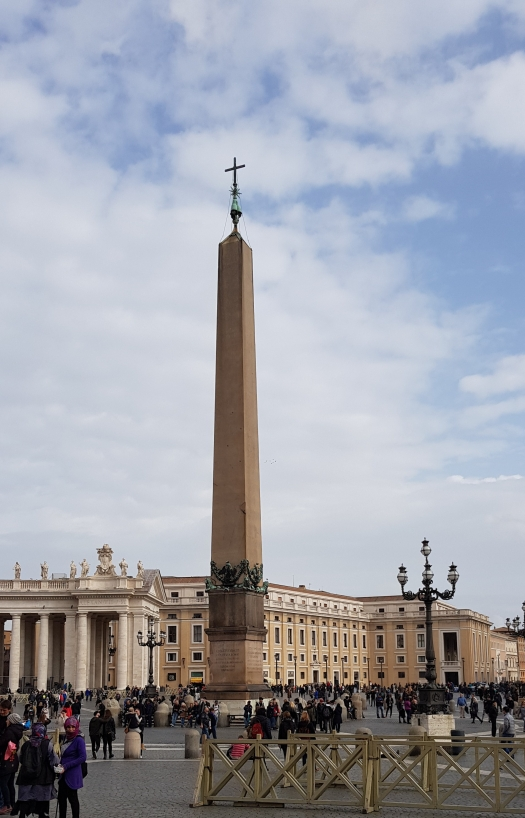 Saint Peter's Square Vatican Rome Italy