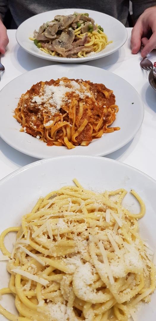 Pasta Dal Cavalier Gino Rome Italy