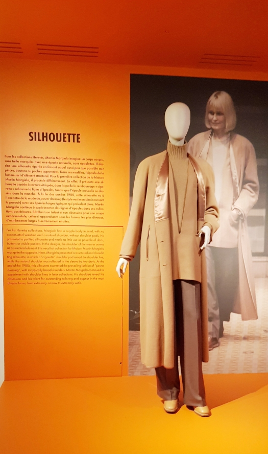 "Structured Silhouette with a ""Cigarette"" Shoulder Margiela Hermes Paris France Musèe des Arts et Décoratifs"