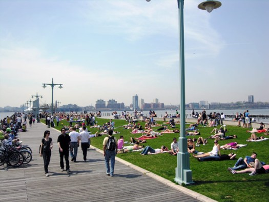 Hudson River Park West Side Highway NYC