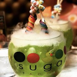 Candy Cocktails Sugar Factory NYC