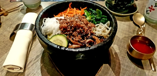 bibimbap soon grill Paris France