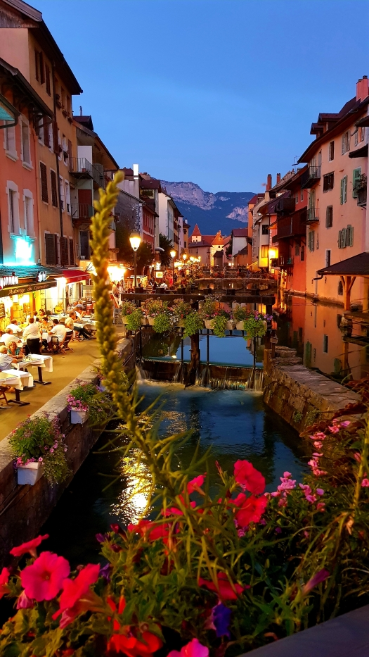 Annecy France Night