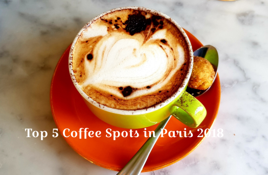 Top 5 Coffee spots in Paris France
